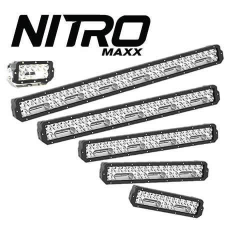NITRO 180 Maxx LED Driving Light on