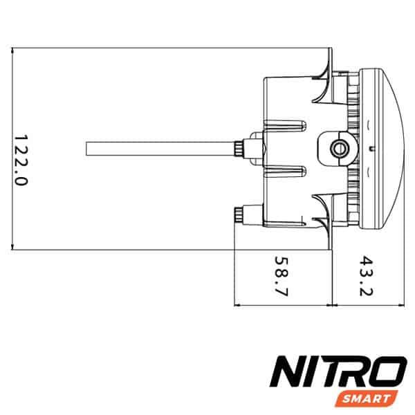 NITRO SMART LED Driving Light on
